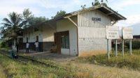 Cagar Budaya Stasiun Kereta Api Kacang di Kabupaten Solok