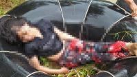 Jenazah seorang wanita yang hanyut di Pesisir Selatan, Kamis (26/11/2020).
