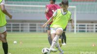 Suasana seleksi Garuda Select angkatan ketiga di Stadion Pakansari, Kabupaten Bogor, Sabtu (31/10/2020).