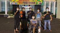 Sat Reskrim Polresta Padang, Sumatera Barat usa menangkap pelaku jambret, Doni S setelah DPO 8 Bulan | Gon/Halonusa