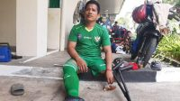 Ahmad Anwar, bek Garuda INAF | wartakotalive.com/Rafsanzani Simanjorang/Halonusa