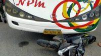 Muara Enim, Kecelakaan, Bus NPM, Sumatera Selatan, Sumatera Barat