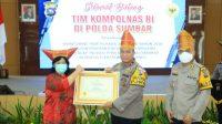 Polda Sumatera Barat, Padang, Kompolnas RI, Penhargaan PAM Pilkada serentak 2020