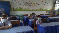 Siswa SD Negeri 26 Air Tawar Timur Kota Padang, Sumbar, Prokes Covid-19, Belajar Tatap Muka di Padang, Gerakan 3M