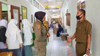 Satpol PP Padang, Sumbar, Belajar tatap muka, Personel