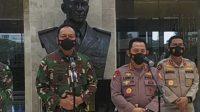 Polri dan TNI AU Laksanakan Program 5 M dan Stabilitas Kamtibmas-halonusa