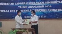 Opini Wajar Tanpa Pengecualian, Kabupaten Pesisir Selatan, Sumatera Barat, LKPD, BPK RI, Rudi Hariyansyah