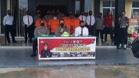 Polres-Dharmasraya-Konferensi Pers-Operasi Jaran Singgalang-2021-