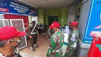 Prajurit TNI di Koramil Pulau Punjung-Menerima-Halonusa-Vaksin-Corona-Sinovac-