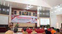Forum Lintas Perangkat Daerah dalam rangka Penyusunan Rencana Kerja Pemerintah Daerah (RKPD) Kabupaten Dharmasraya Tahun 2022, di Auditorium Kantor Bupati Dharmasraya-Halonusa.com