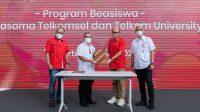 MoU Telkomsel dan Telkom University - Halonusa