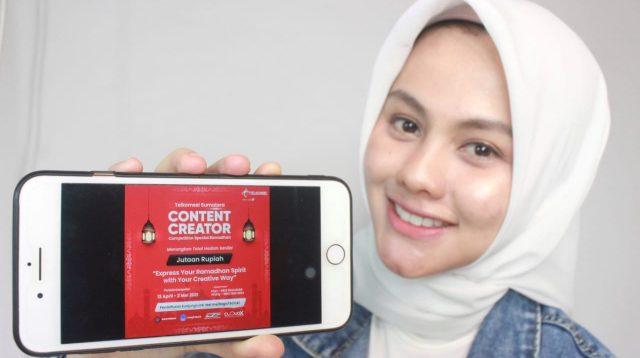 Dalam menyemarakan bulan suci Ramadhan tahun 2021, Telkomsel menghadirkan beragam video challenge untuk para pelanggan di Sumatera. Kegiatan ini merupakan bentuk apresiasi Telkomsel sekaligus mewadahi minat dan bakat para pelanggan dalam membuat konten video yang kreatif. Nantinya aka nada hadiah total puluhan juta rupiah untuk para pemenang.