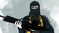 Ilustrasi ISIS. (Suara.com/Ema Rohimah)