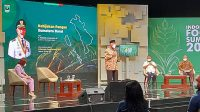 Gubernur Sumatera Barat Mahyeldi sebagai nativespeaker Indonesia Food Summit 2021 di Jakarta