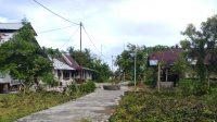 Salah satu kondisi di Desa Hinako, Sirombu, Kabupaten Nias Barat, Sumatera Utara (Sumut). gempabumi mengguncang Nias Barat, Sumatra Utara (Sumut) Jumat (14/5/2021) pukul 13.33 WIB. Badan Meteorologi Klimatologi dan Geofisika (BMKG) memastikan gempa tak berpotensi tsunami, selain itu meminta warga mewaspadai gempa susulan pascagempa. | Credit: Joni Adept/Halonusa.com