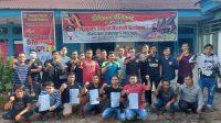 Puluhan Pemuda Gunung Medan mengelar pertemuan di Kantor Wali Nagari, Rabu (5/5/2021).