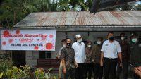 Wakil Gubernur Sumatera Barat, Audy Joinaldy saat kunjungan kerja di Pasaman Barat