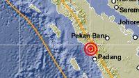 Info Gempa Mag:2.0, 21-May-21 22:33:11 WIB, Lok:0.29 LS,100.08 BT (6 km TimurLaut LUBUKBASUNG-AGAM-SUMBAR), Kedlmn:5 Km ::BMKG-PGR VI