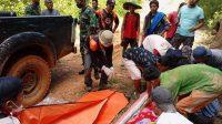 Longsor tambang emas yang terjadi di Kimbahan Nagari Abai, Kecamatan Sangir Batang Hari, Kabupaten Solok Selatan, Sumatera Barat menewaskan tujuh warga /Dok BNPB