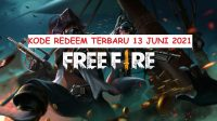 Kode Redeem FF (Free Fire) Terbaru 13 Juni 2021