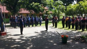 Penutupan Diklat Angkatan XXI UKM KSR PMI Unit Universitas Bung Hatta Proklamator - Halonusa-
