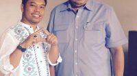 Ketua DPC Partai Demokrat Kota Padang, Ilham Maulana foto bersama dengan Presiden ke-6 RI Soesilo Bambang Yudhoyono (SBY)