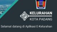 Aplikasi E-Kelurahan. (Foto: Dok. Istimewa)
