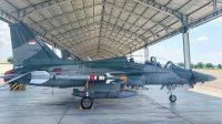 Pesawat tempur TT-5015 milik TNI AU Indonesia | Yonhap