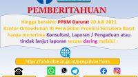Ombudsman Perwakilan Sumatera Barat