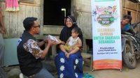 Pendistribusian daging kurban oleh ACT di Payakumbuh dan Limapuluh Kota, Sumbar, Rabu (21/7/2021).