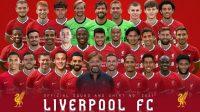 Squad The Reds. bola.com