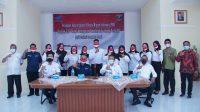 Sejumlah peserta pendidikan pelatihan di BLK Padang dilepas untuk bekerja di Jepang. (Foto: Dok. Istimewa)