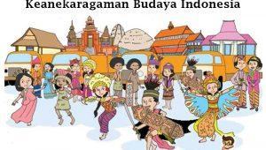 Ilustrasi kebudayaan di Indonesia (foto: ayoksinau.com)