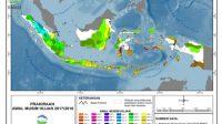Ilustrasi peta tentang musim hujan di Indonesia (foto: kompas)