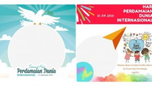 10 Twibbon Hari Perdamaian Dunia Internasional 2021, Bingkai Foto di Twibbonize.com