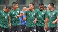 Pemain Borneo Latihan (Foto: Twitter Borneo FC)