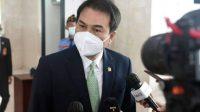 Wakil Ketua DPR RI, Azis Syamsuddin ditetapkan sebagai tersangka kasus suap oleh KPK