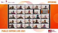 Sejumlah perwakilan perusahaan di kegiatan Public Expose Live 2021 yang diselenggarakan BEI. (Foto: Dok. Istimewa)