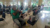 Salah satu masyarakat yang mengikuti gebyar vaksin Covid-19 di Kecamatan Lubuk Begalung. (Foto: Dok. Istimewa)