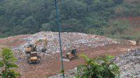 Kondisi terkini TPA Padang Karambia, Kota Payakumbuh yang over kapasitas. (Foto: Dok. Istimewa)