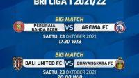 Hasil Pertandingan babak pertama Persiraja vs Arema FC