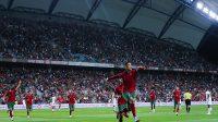 Selebrasi gol oleh Ronaldo (Foto: Twitter Cristiano Ronaldo)