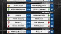 Jadwal Liga 1 Pekan Kedelapan (Foto: Twitter Liga 1Match)