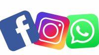 Ilustrasi Facebook, Instagram dan WhatsApp down. (Foto: Dok. Istimewa)