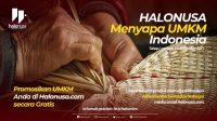 Halonusa Menyapa UMKM Indonesia. (Foto: Halonusa)