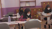 Pembelajaran Tatap Muka SMPN 1 Padang (Foto: Putra Aksara)