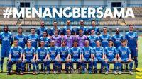 Tim Skuad Persib Bandung (Sumber: Ig. @Persib)
