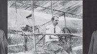 """Orville dan Wilbur Wright dan Glenn Curtiss (tengah). (Foto:repro """"Birdmen"""" karya Lawrence Goldstone)"""