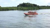 Tim SAR Mentawai melakukan pencarian anak hilang