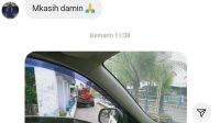 Tangkapan layar pengaduan netizen soal truk tinja parkir di persimpangan jalan Taman Siswa Padang. (Foto: Dok. Instagram/@infopadang)